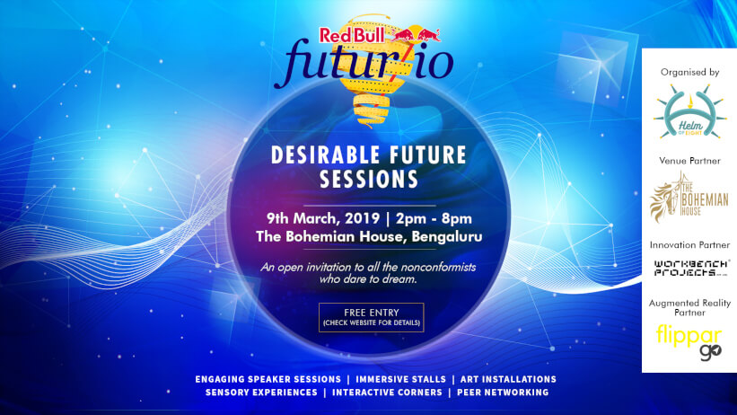 Desirable Future Sessions | RedBull Futur/io Bangalore Event Picture