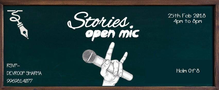 Open Mic- Story Event Picture