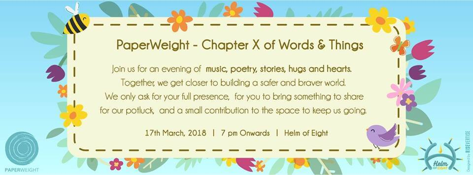 PaperWeight- Chapter X of Words & Things