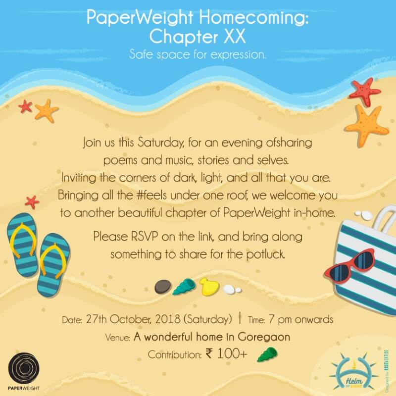 ChapterXX: PaperWeight Homecoming  Event Picture