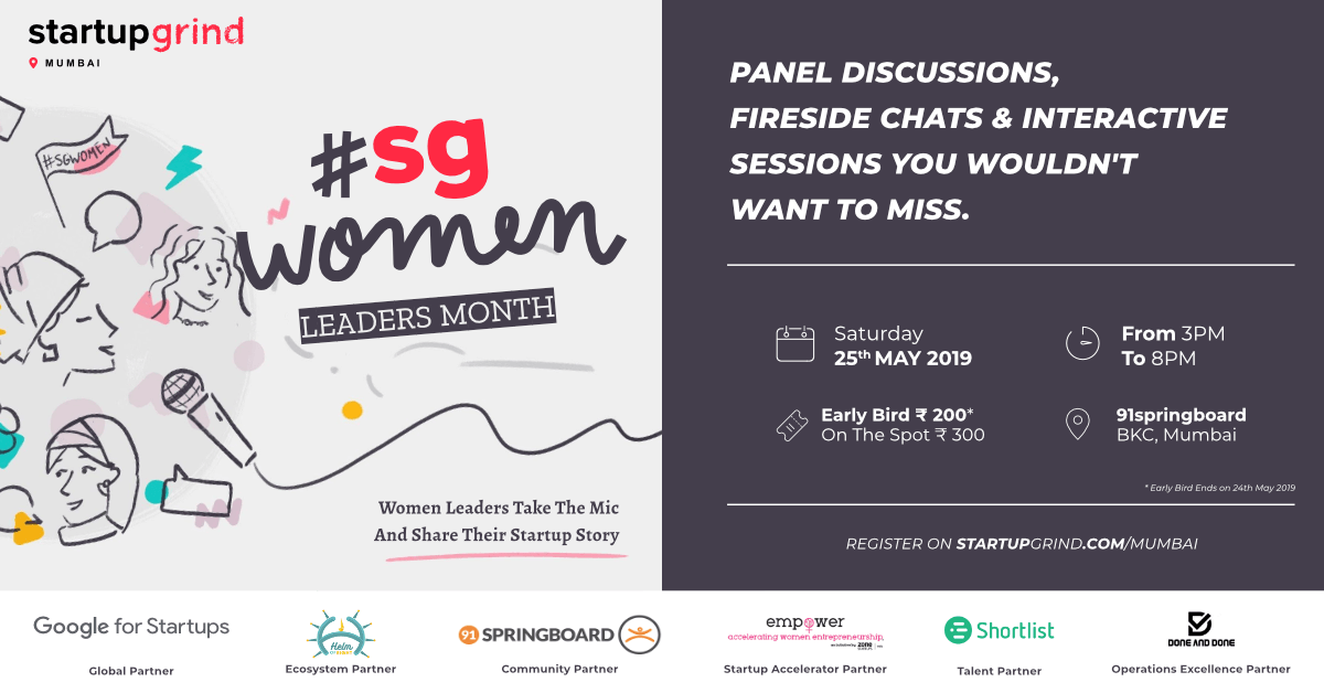 #SGWomen Leaders Month 2019